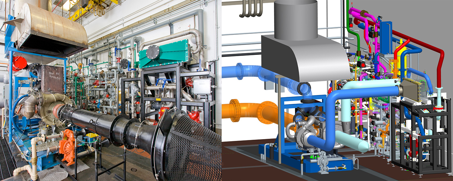 ACS upgraded a turbocharger test stand for steady-state testing of both single-stage and dual-stage turbochargers for Tier IV emissions compliant locomotive engines