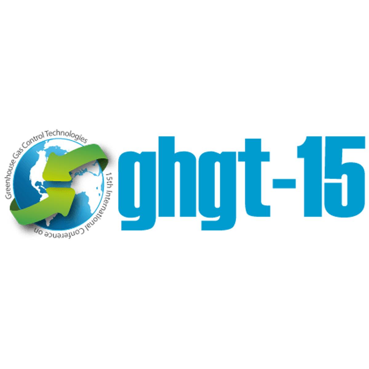 15th international conference green gas control technologies logo