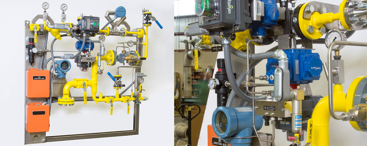 ACS' custom turnkey fuel delivery rigs to meet requirements for safe delivery of flammable fuels used in an engine test environment