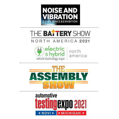 ACS will exhibit at noise and vibration conference and exhibition, the battery show north america 2021, the assembly show and automotive testing expo 2021 in Novi, Michigan