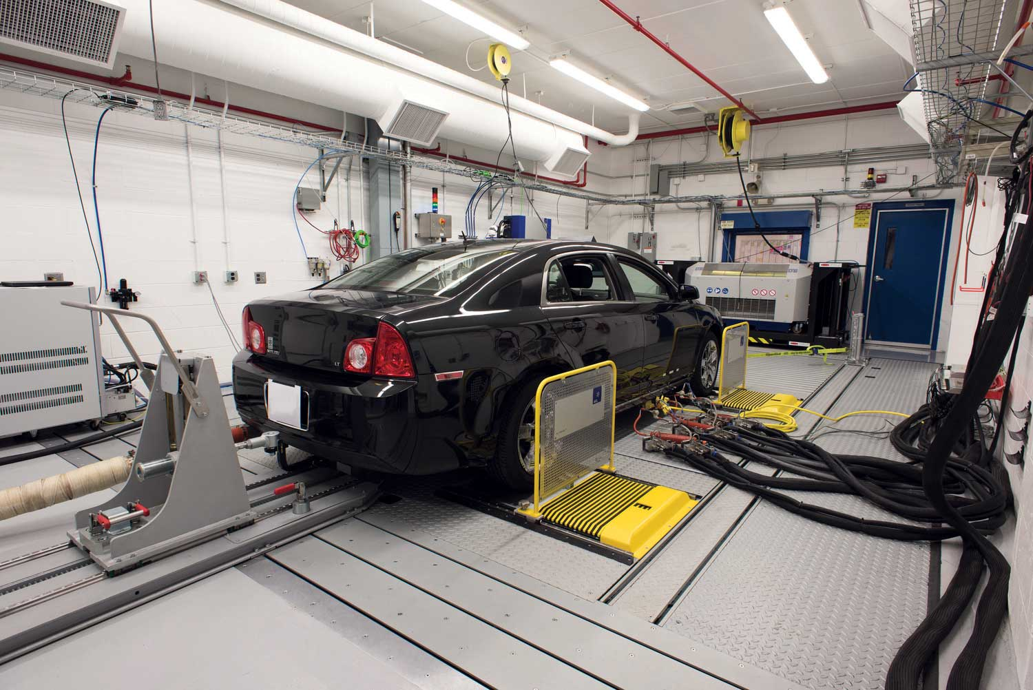 4wd chassis dyno emissions test cell upgrade, vehicle test cell upgrade, acs expands michigan