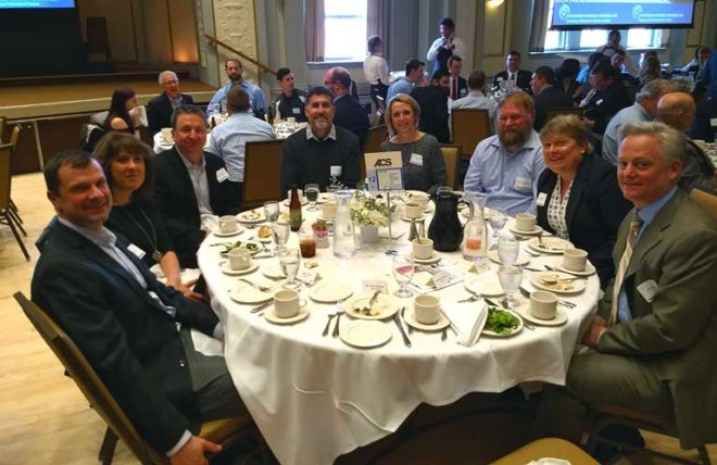 acs attends engineers without borders student chapter banquet at uw madison