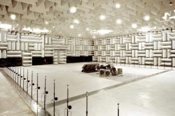 anechoic chamber construction
