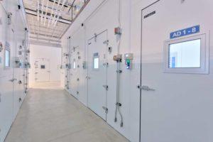 refrigerator testing facility