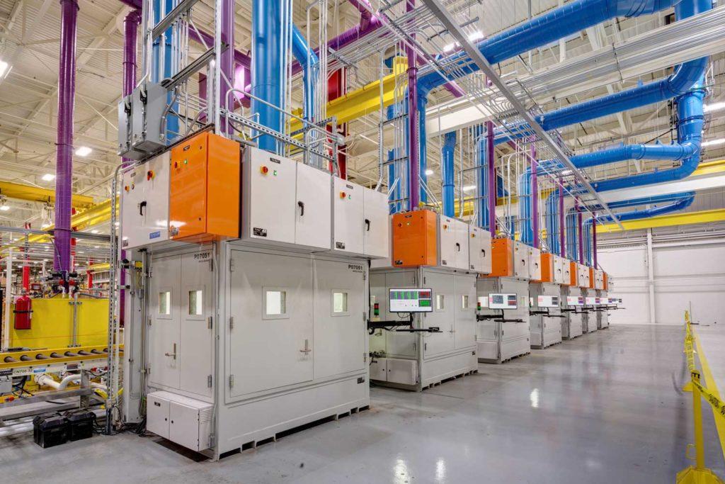 end line gen set production testing