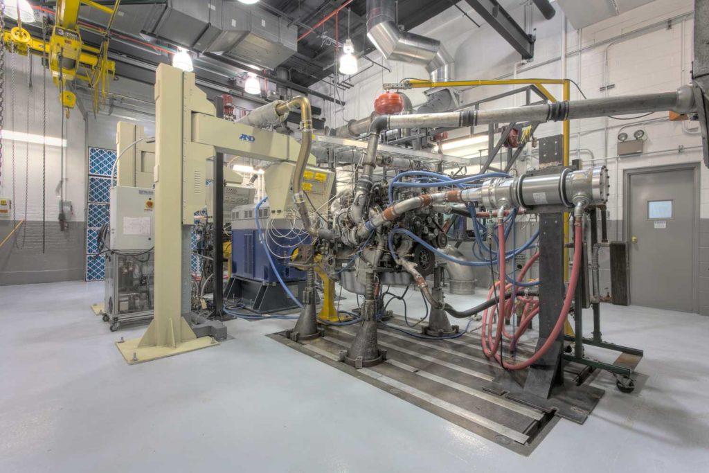 engine development test cell upgrade