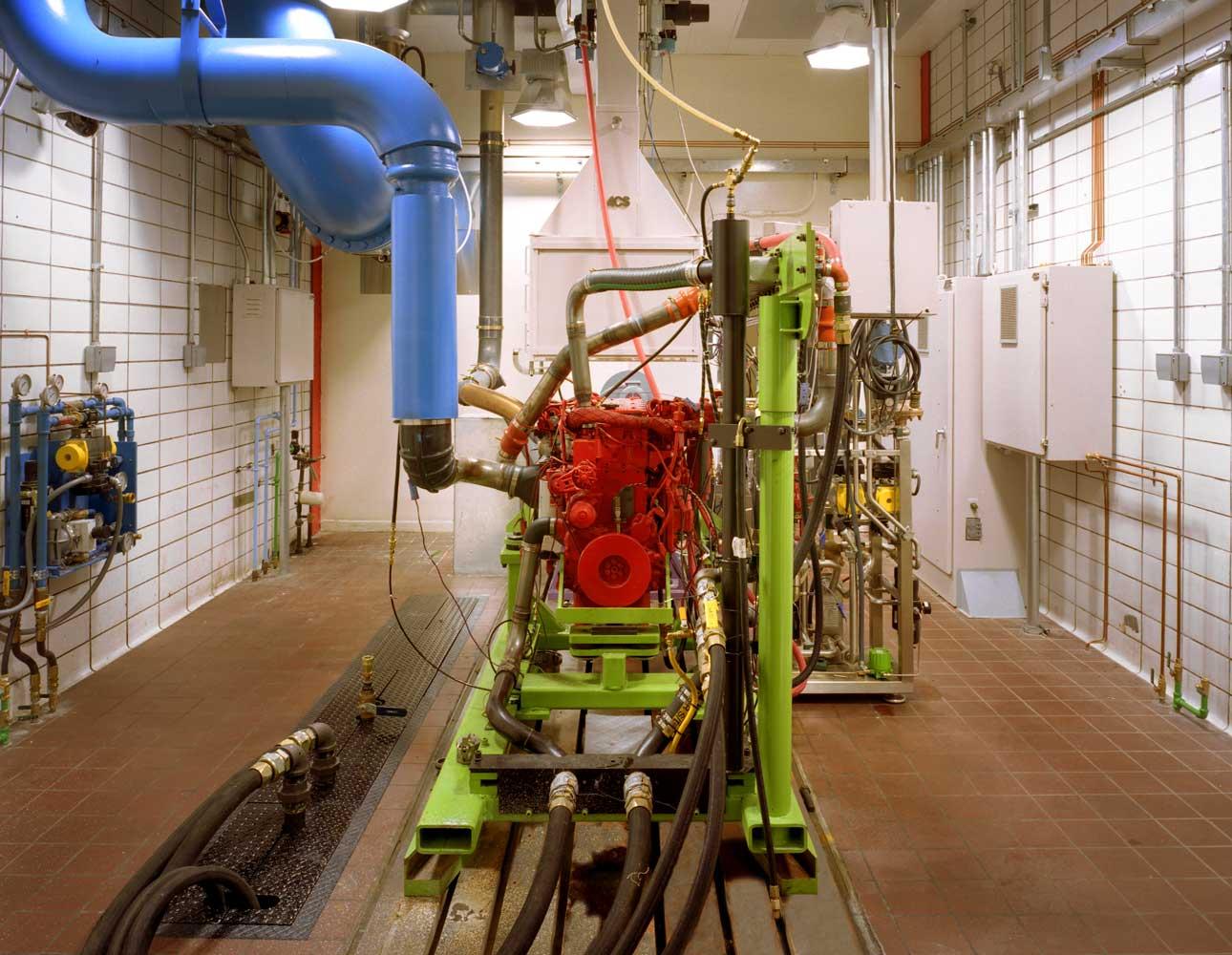 emissions measurement certification test facility
