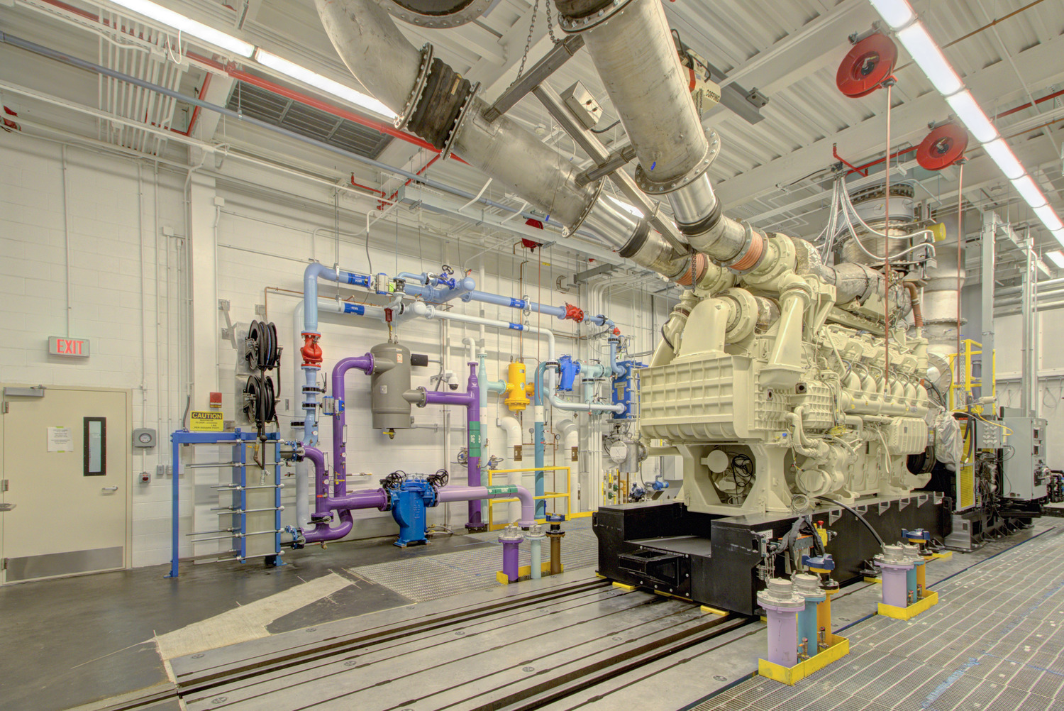 industrial automation process, tier 4 emissions test