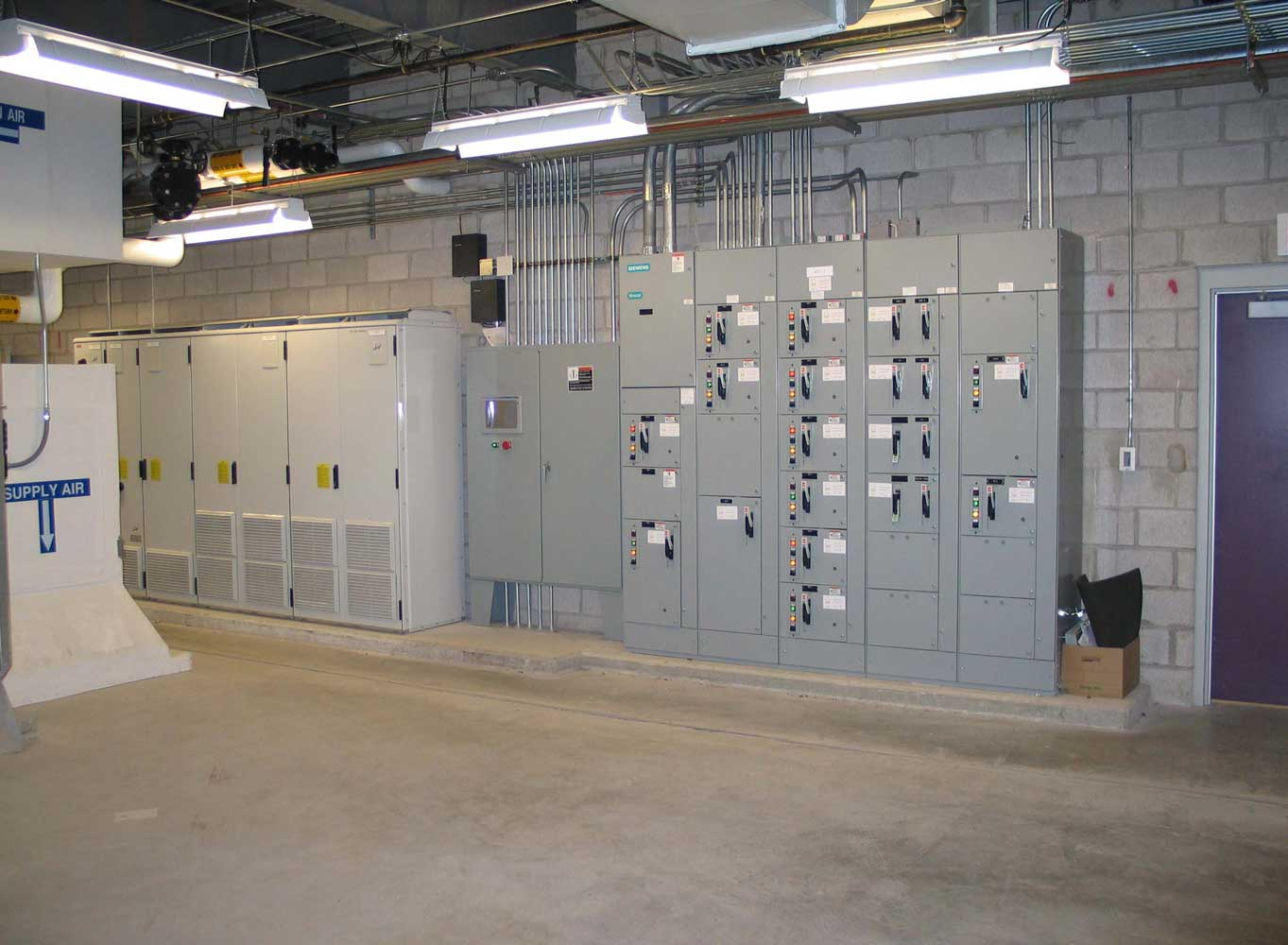 test center expansion, diesel engine test cell, acs project case studies