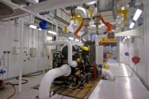 high horsepower technical center construction