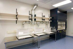 inhalation lab construction