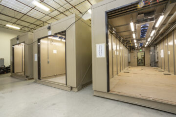electric vehicle test enclosure, test cell enclosure manufacturer