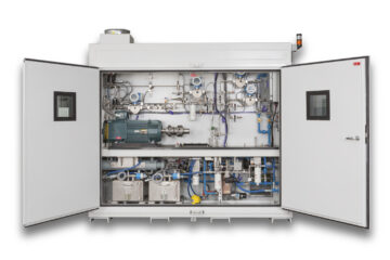 integrated test rig enclosure for engine component test using a variety of fuels
