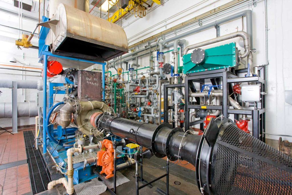 ge turbocharger test cell