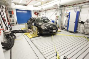 4wd chassis dyno emissions test cell upgrade, vehicle test cell upgrade